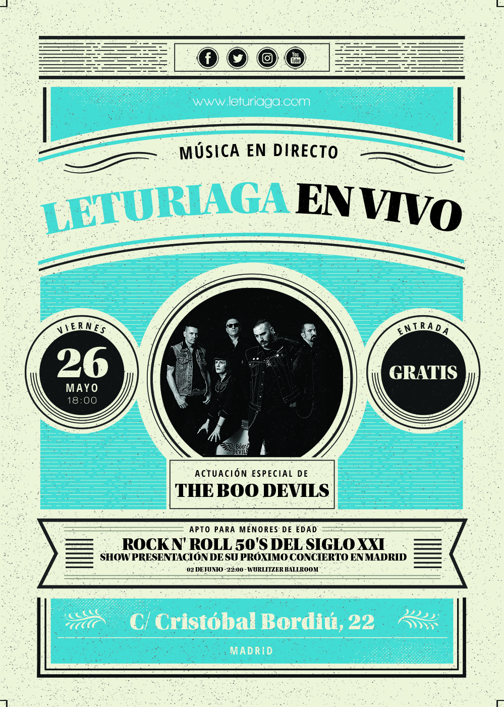 EN VIVO - BOO DEVILS_low