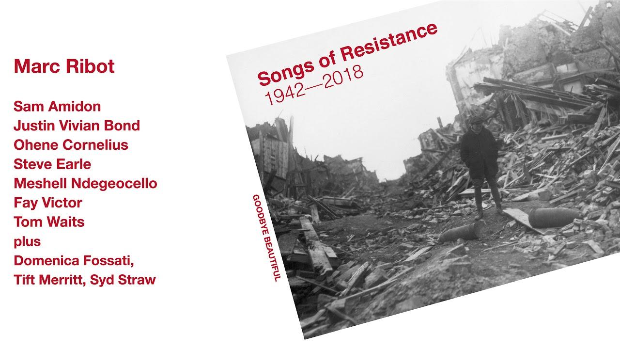 Resultado de imagen de marc ribot songs of resistance