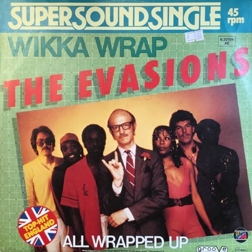 The Evasions - Wikka Wrap / All Wrapped Up Vinylism
